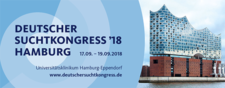 Deutscher Suchtkongress vom 17. bis 19. September 2018 in Hamburg